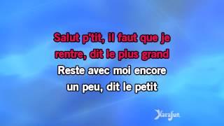 Karaoké Pleure pas boulou - Pierre Bachelet *