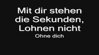 Rammstein - Ohne Dich (lyrics) HD