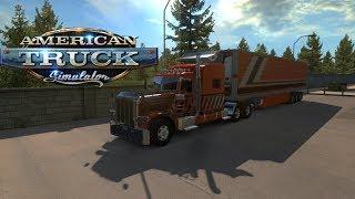American Truck Simulator / Convoy Acompañando Al grupo Balandran