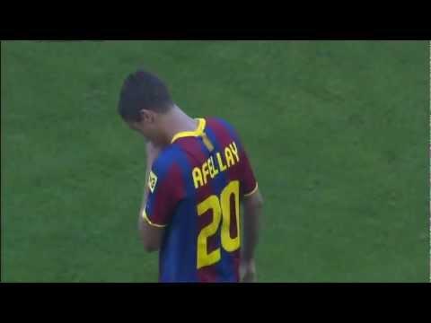 Ibrahim Afellay's goals for Barcelona