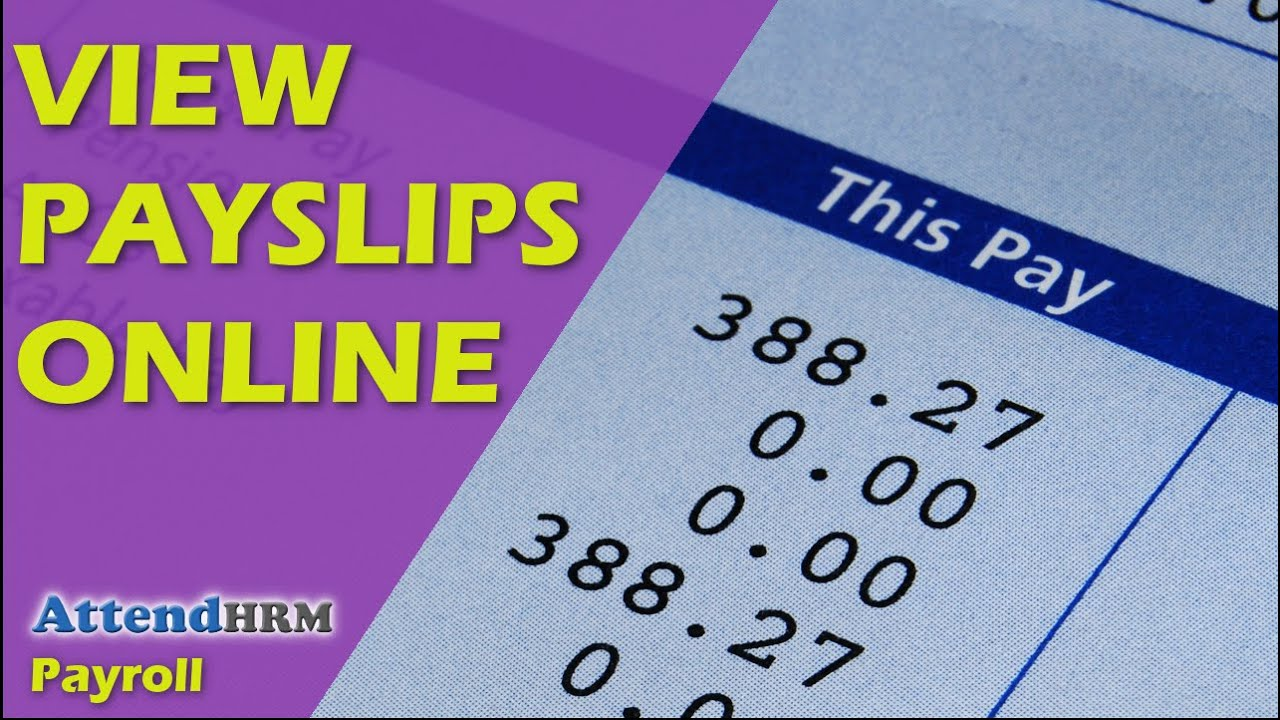 View Payslips Online