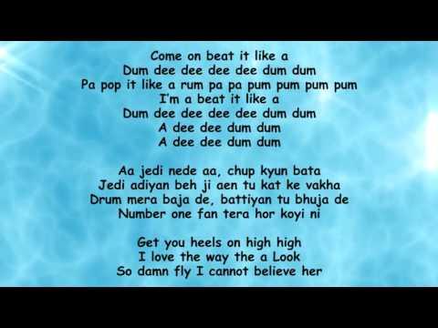 Dum Dee Dee Dum Lyrics – Zack Knight, Jasmin Walia