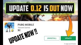 Pubg Mobile Update 0.12 Out now New Rpg , New Zombies and Weapons