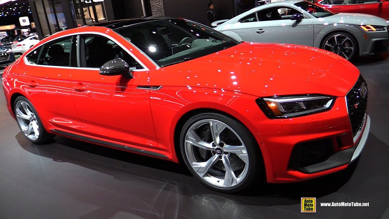 2019 audi rs5 sportback exterior and interior walkaround 2018 la auto show youtube. Black Bedroom Furniture Sets. Home Design Ideas