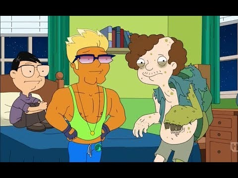 American dad steve and snot naked