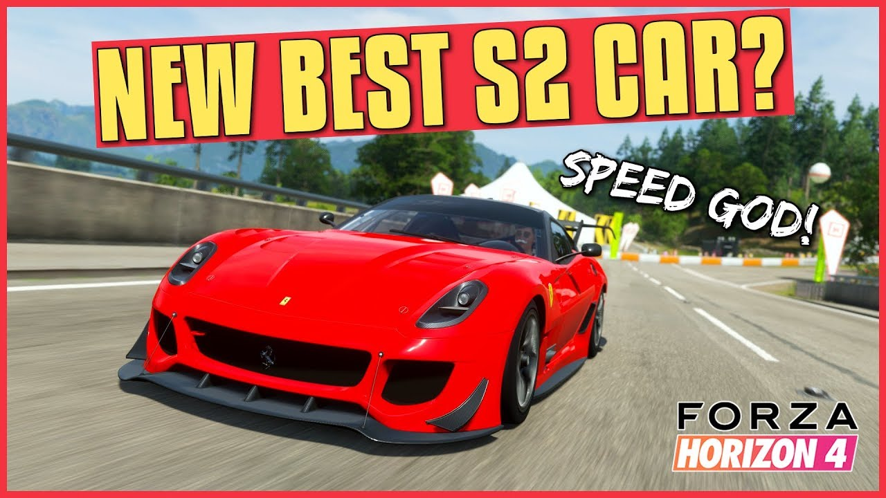 16df54f3acd The New BEST S2 CLASS CAR in Forza Horizon 4? (Ferrari 599XX Evolution)