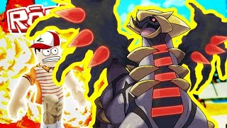Roblox Adventures / Pokemon Fighters EX / GIRATINA!