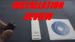 TP-LINK 150 Mbps TL-WN721N Installation and Review!