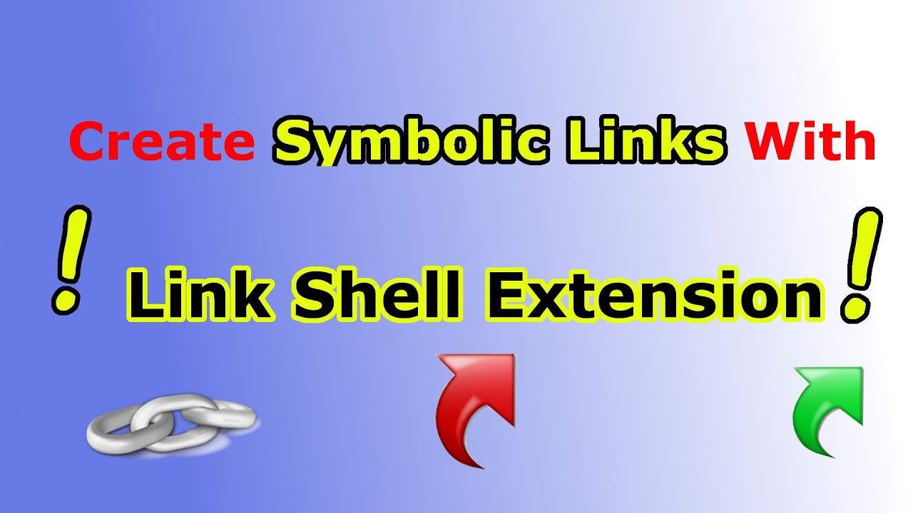 Create Symbolic Links Hard Links Junctions With Link Shell