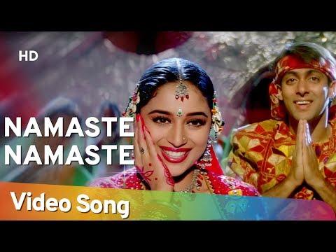 Namaste Namaste | Dil Tera Aashiq (1993) | Salman Khan | Madhuri Dixit | Sadhana Sargam
