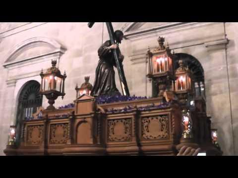 Cristo de la Corona en el Ayuntamiento, Semana Santa de Sevilla 2016