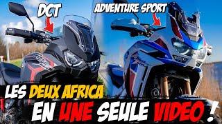 Voilà pourquoi les Africa 2020 sont GÉNIALES ! - Essai Africa Twin Adventure sport et DCT -ErDoZz