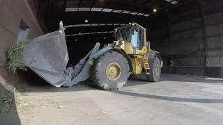 Transfer station - Volvo L120F Loading shovel