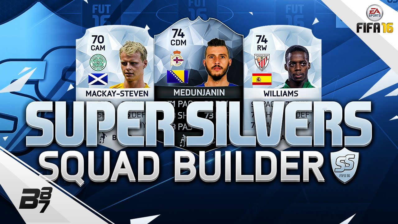 Fifa 16 Super Silvers Squad Builder W Inaki Williams And Mackay