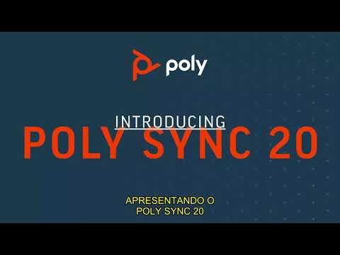 Apresentando o Poly Sync 20  em Português