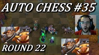 6 Goblins Round 22 MADNESS | Auto Chess Gameplay Commentary #35 Dota 2