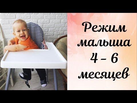 Распорядок дня и режим для ребенка в 4-6 месяцев \ Самостоятельное засыпание \ Первый прикорм