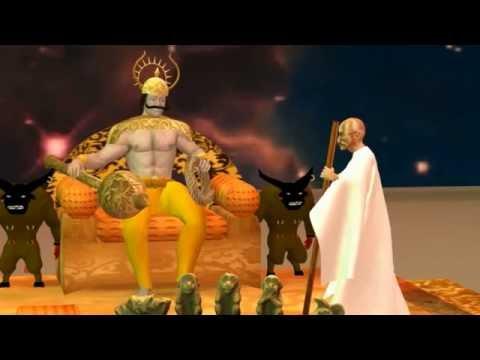 Yamalokadalli Gandhi - Kannada animated movie (poser pro, cinema 4d)
