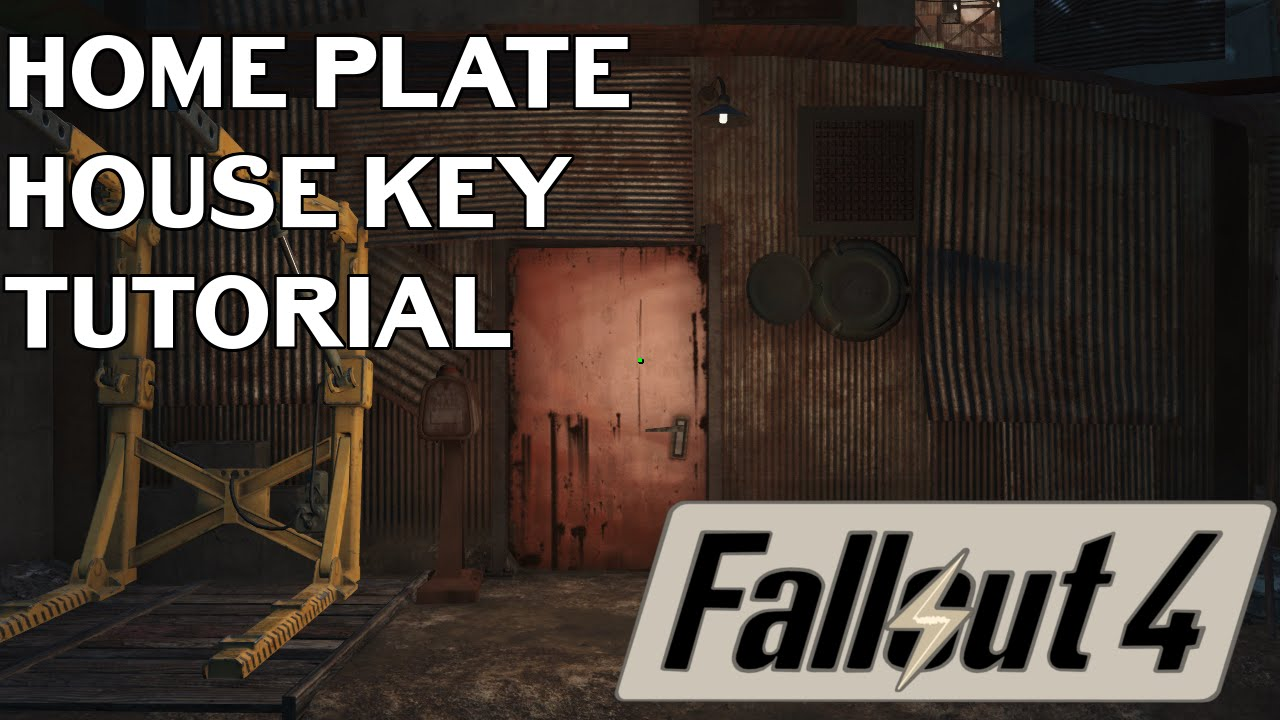 Fallout 4 Where To Find The Home Plate Key Diamond City Youtube