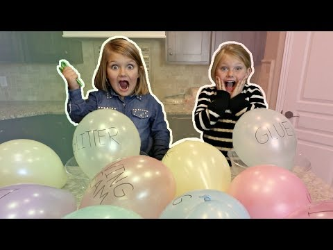 ULTIMATE SLIME MAKING WITH GIANT BALLOONS!