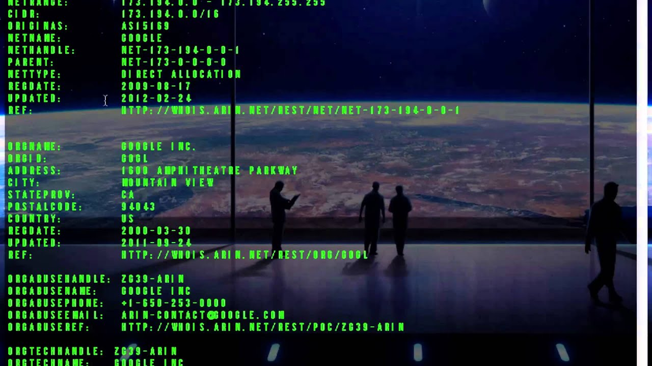 How to] Find IP Address and Info About a Website Using Terminal ...