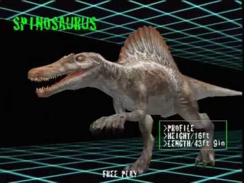 Jurassic park iii spinosaurus 2 youtube - Spinosaurus jurassic park ...