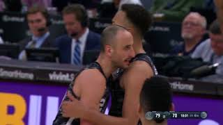 Anderson And-One vs Utah Jazz (Spurs at Jazz) 02/12/2018