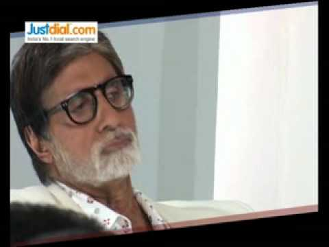 Making of JustDial ads with Amitabh Bachchan