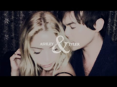 Tyler Blackburn & Ashley Benson | Goodbye my lover.