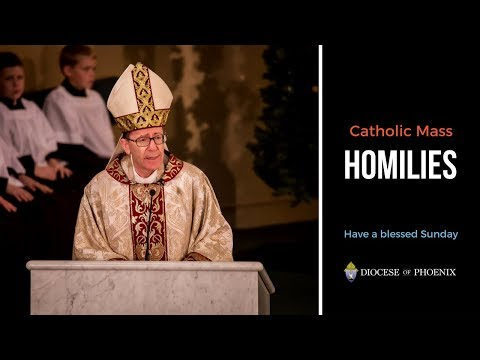Bishop Olmsted's Homily for Oct  21, 2018