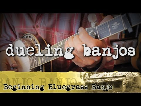 Bluegrass Banjo Lesson 39 - How to Play Dueling Banjos