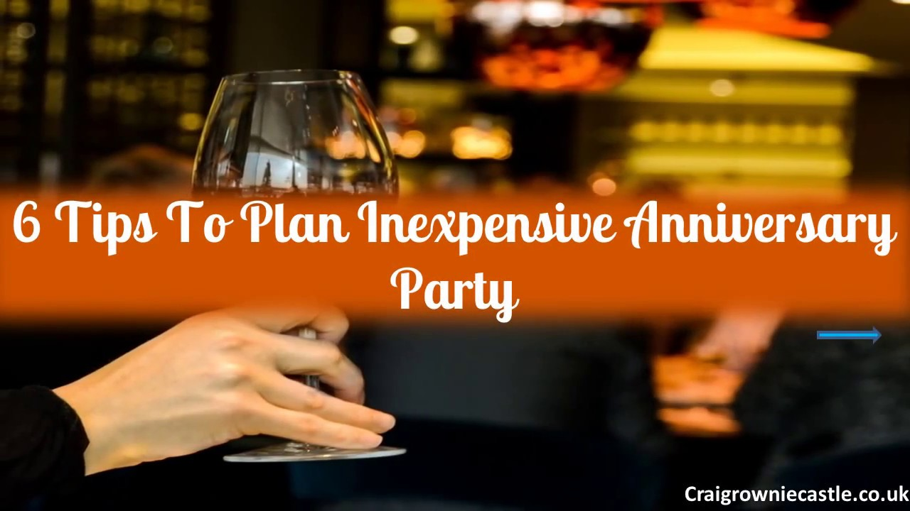 Watch How to Plan an Anniversary Party video