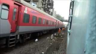 Coolest Parallel Action Ever On Indian Railways! (Rajdhani vs Flying Ranee!)