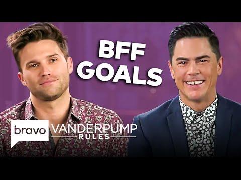 Tom Schwartz and Tom Sandoval's Greatest BFF Moments on Vanderpump Rules   Bravo