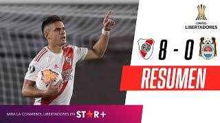 River Plate - Binacional [8-0] | GOLES | Grupo D (Jornada 2) | CONMEBOL Libertadores