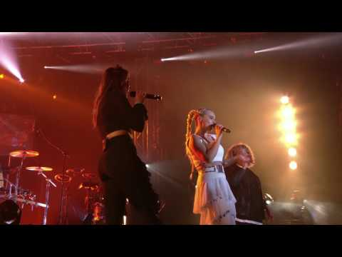 Clean Bandit performing Extraordinary live at The Isle of Wight Festival 2017