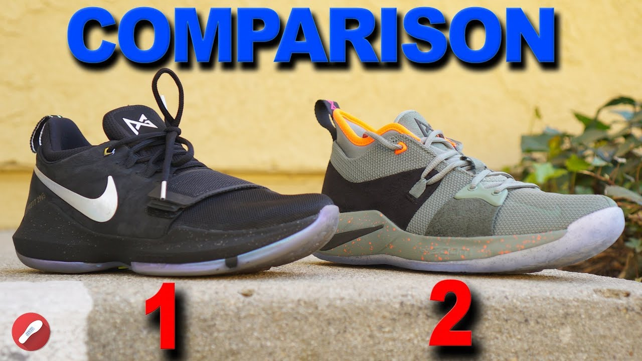 3498e3a2abc1 Nike PG 1   PG 2 Comparison! Should You Get the PG 2  - YouTube