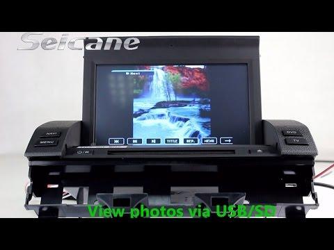 2003 2004 2005 Mazda 6 Gps Navigation ,Mazda 6 Dvd Radio,Mazda 6 Dvd Bluetooth With Audio System AUX