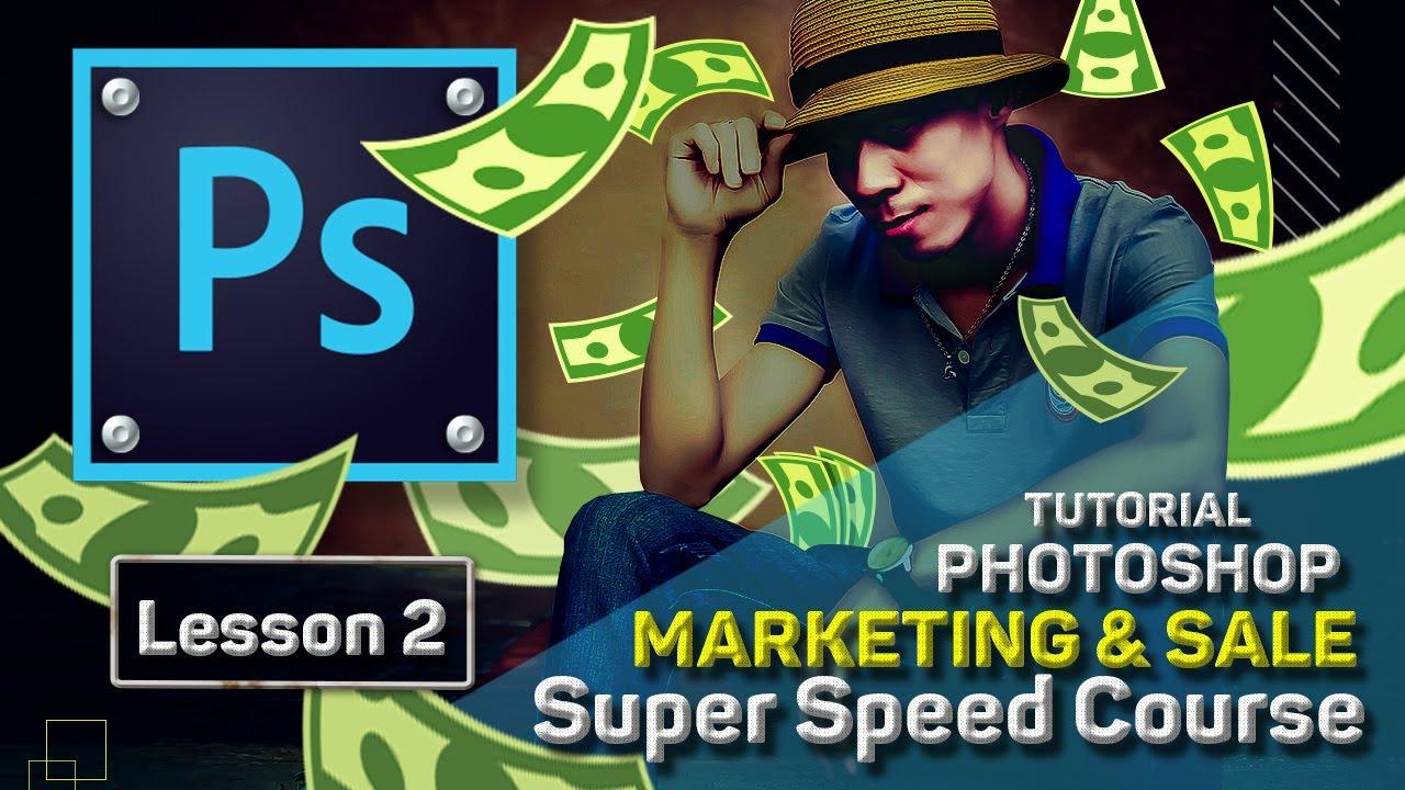 Bài 2 Hướng dẫn xóa mụn đối tượng dư thừa trong hình ảnh | Photoshop cho Marketing – Bán Hàng Online