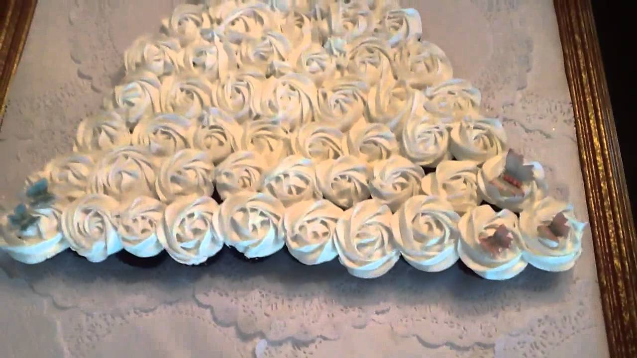 Wedding Gown Cupcakes Youtube