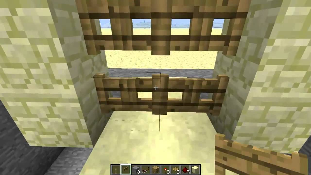 minecraft fence post recipe. #Minecraft 1.7.2 Double Fence Gate Door [TUTORIAL] - YouTube Minecraft Post Recipe