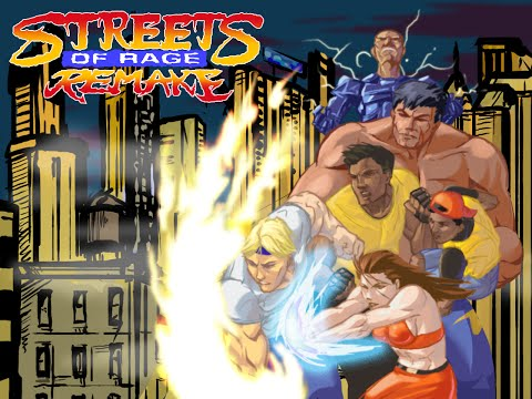 Streets of Rage Remake 5.1 PC 720P HD Playthrough - ROUTE 4