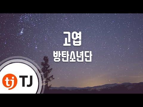 [TJ노래방] 고엽 - 방탄소년단 (DEAD LEAVES - BTS) / TJ Karaoke