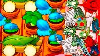 Игра - Растения Против Зомби - смотреть прохождение от Flavios #43