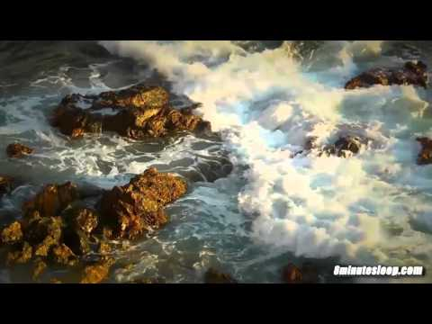 Ocean Waves Crashing on Rocks | White Noise To Help You Relax, Study or Sleep | Nature Video 10 Hrs Mp3