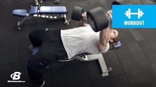 Fast-Paced Chest Workout | 30 Days Out | Day 1 thumbnail
