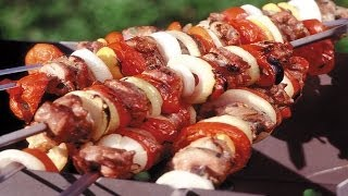 Как приготовить картошку и свиную грудинку на мангале.  | Kebab with potatoes.