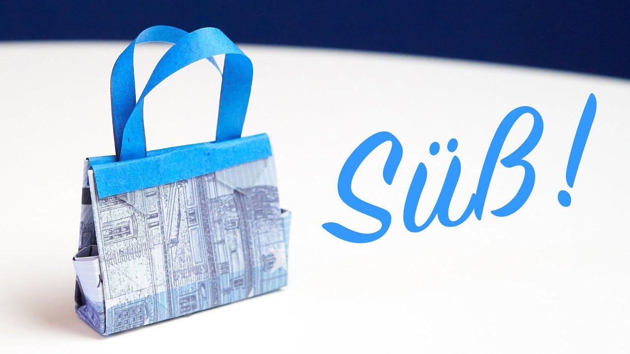Geldgeschenke Basteln Shopping 80 Ideen Wie Sie Geschenke Schon