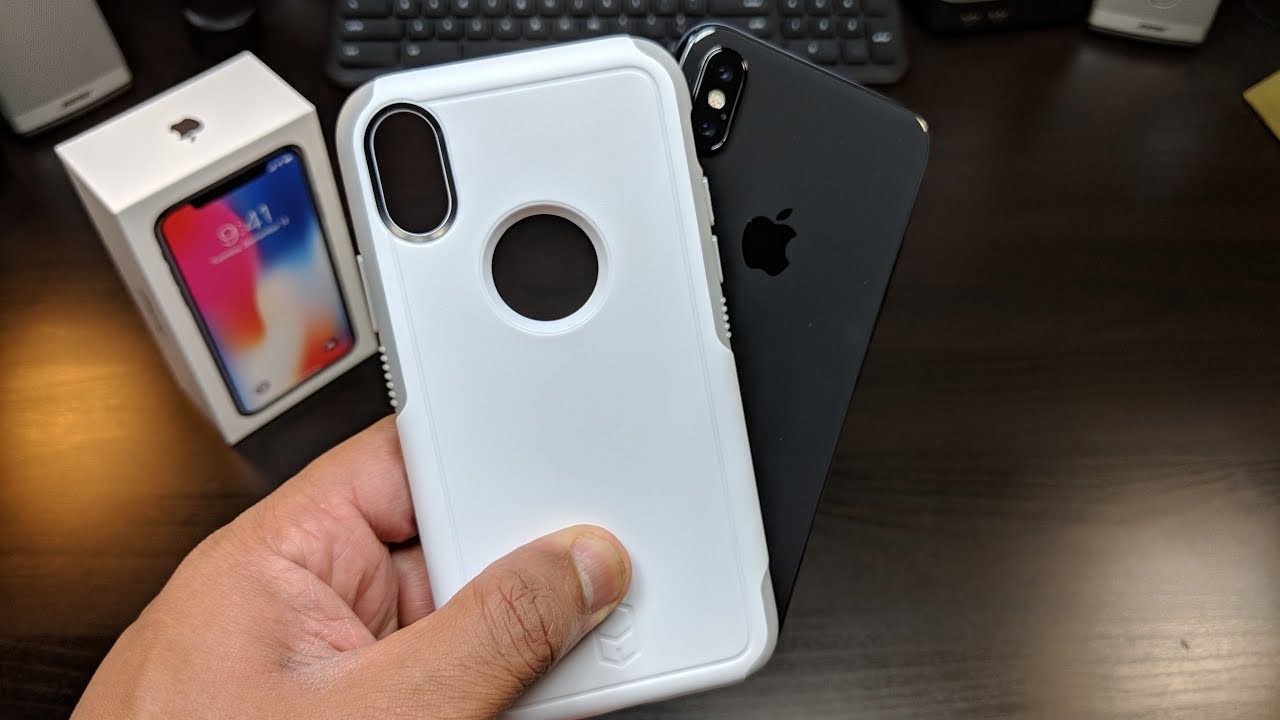 best service f7329 d4ce7 iPhone X, Patchworks Level Aegis Series Case Otterbox type Protection