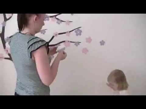 2stick.ru - Виниловые наклейки для стен. Инструкция